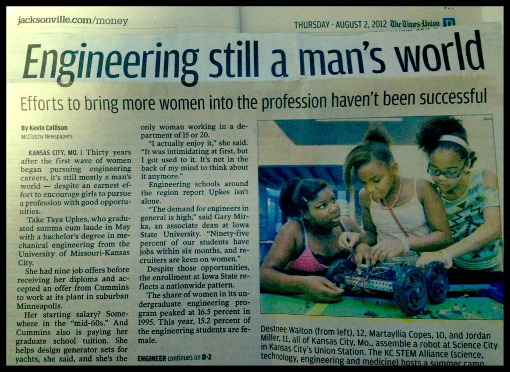 Engineering still a man's world? NO!