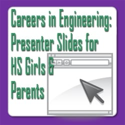 Careers in Engineering - Slides for Presenters