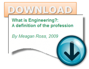 What is Engineering? A Definition of the Profession