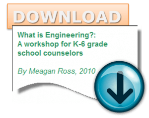 What is Engineering? A workshop for K-6 grade school counselors