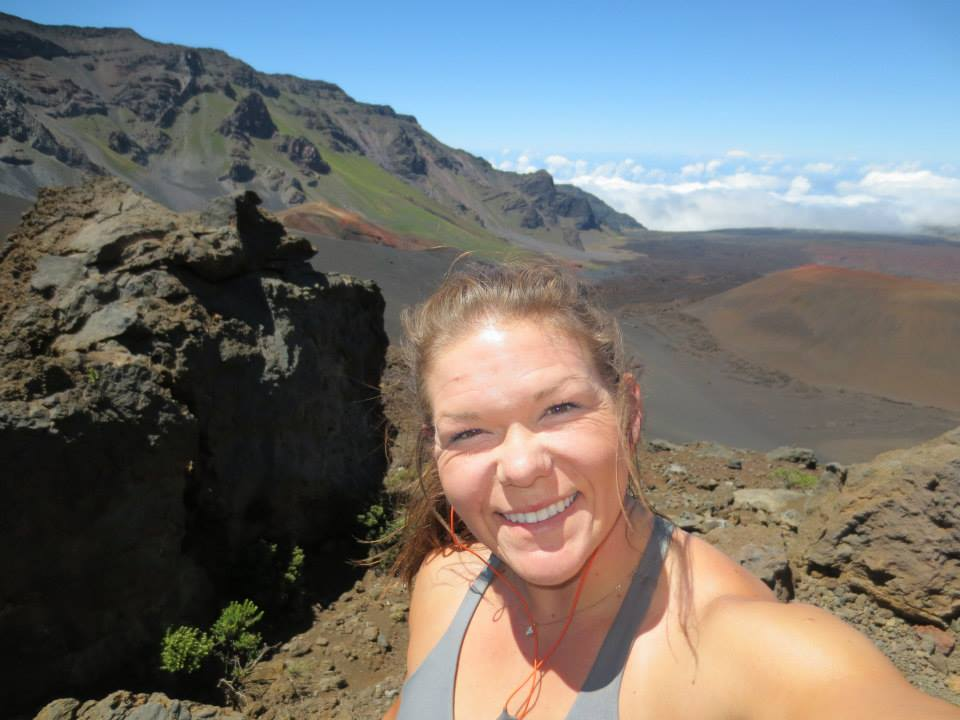 Meagan Pollock - Mt. Haleakala National Park, Maui, Hawaii