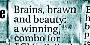 Headline News Brains Brawn And Beauty Meagan Pollock Phd