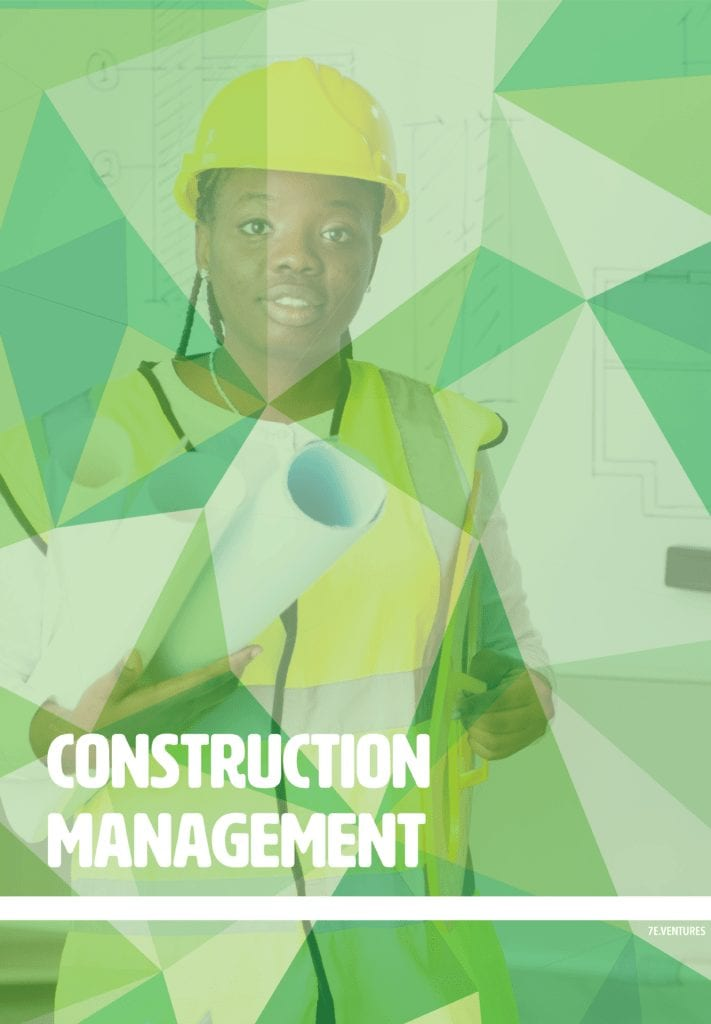 Nontraditional Career Poster: Construction Management