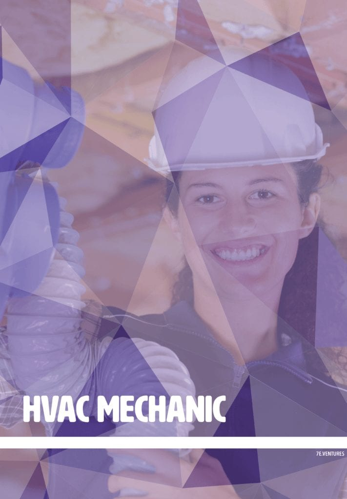 Nontraditional Career Poster: HVAC