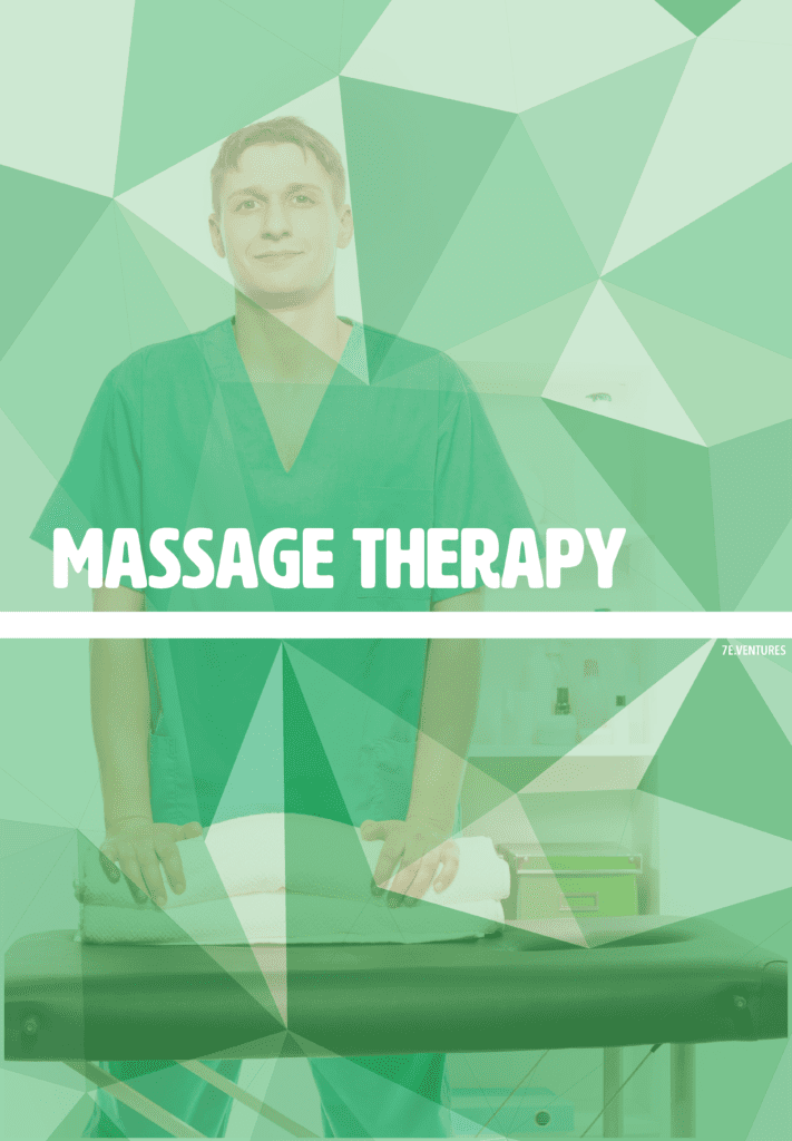 Nontraditional Career Poster: Massage Therapy