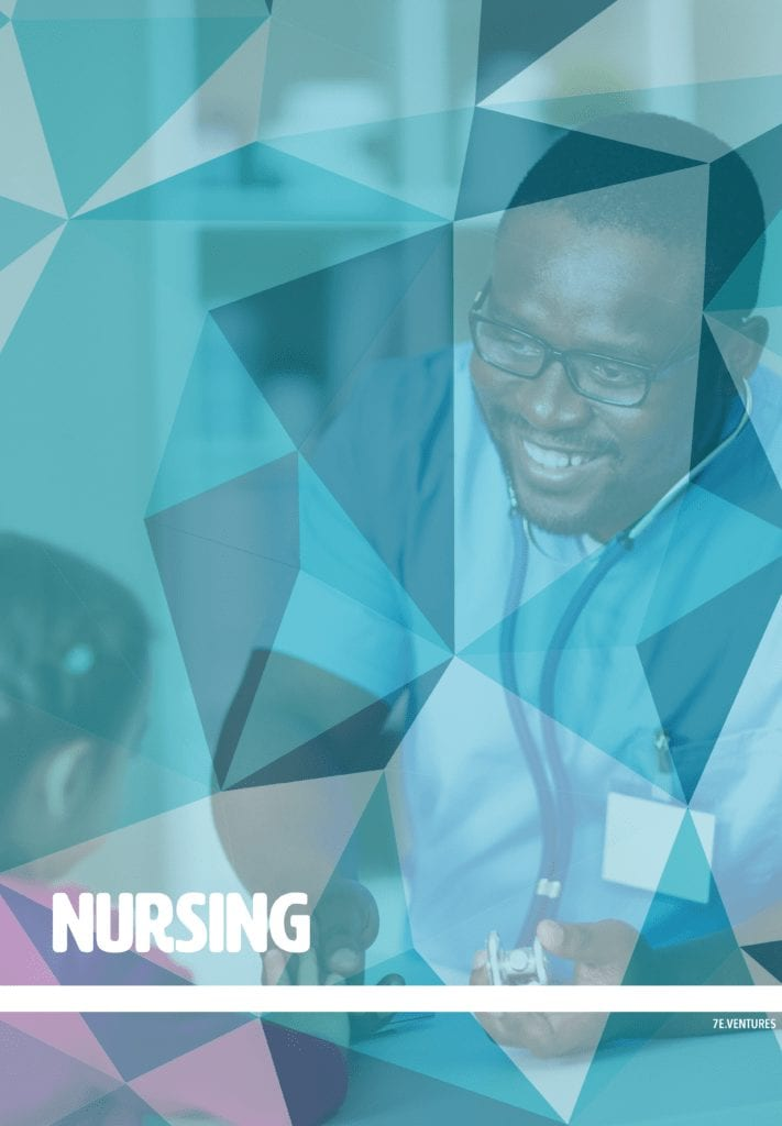 Nontraditional Career Poster: Nursing
