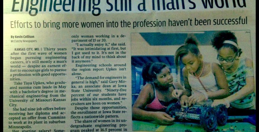Engineering still a man's world? NO!